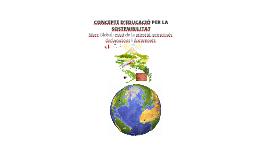 COAMB I. Concepte d'Educació per la Sostenibilitat