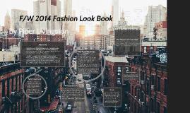 F/W Fashion Lookbook