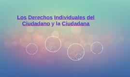 Los Derechos Individuales del Ciudadano y la Ciudadana