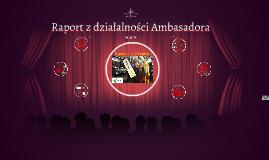 Raport z działalności Ambasadora