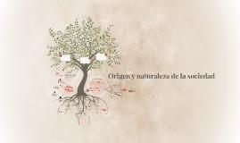 Origen y naturaleza de la sociedad