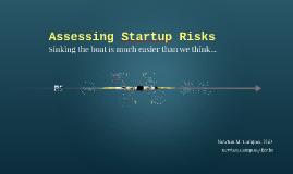 Assessing Startup Risks