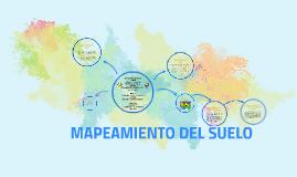 MAPEAMIENTO DEL SUELO