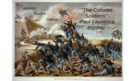 The Colored Soldiers
