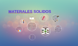 MATERALES SOLIDOS
