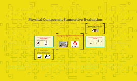 Physical Component Summative Evaluation