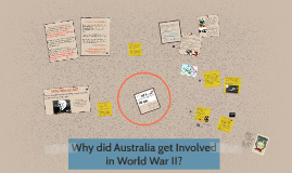 Why did Australia get involved in World War II?
