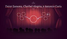 Daisy Zamora, Claribel Alegria, y Antonio Curis