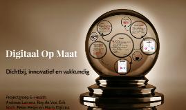 Copy of Digitaal Op Maat