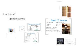 Stat Lab #3