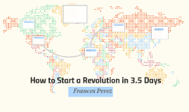 How to Start a Revolution in 3.5 Days