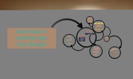 IDENTIDAD Y CAMPOS DEL PSICÓLOGO