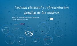 Sistema electoral y representacion politica bridge