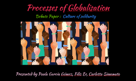 Processes of Globalisation