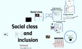 Copy of Copy of Social Class