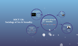 Sociology of Sex & Sexuality
