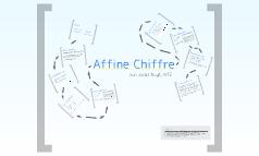 Affine Chiffre