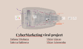 CyberMarketing viral project
