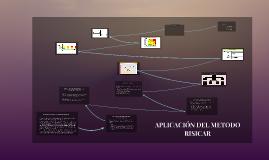 Copy of APLICACION DEL METODO RISICAR