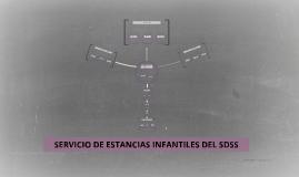 SERVICIO DE ESTANCIAS INFANTILES DEL SDSS