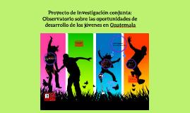 Copy of Proyecto de investigación conjunta: