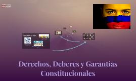 DERECHOS - GARANTIAS - DEBERES