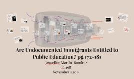 Undocumented Children Deserve Equal Protection