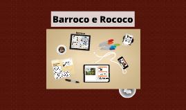 Barroco e Rococo