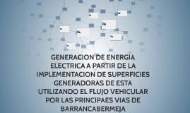 GENERACION DE ENERGIA ELECTRICA A PARTIR DE LA IMPLEMENTACIO