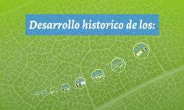 Copy of Desarrollo historico de los:
