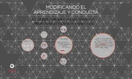 APRENDIZAJE Y CONDUCTA EN NINOS DE 6 A 13 ANOS