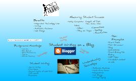 Backward Design on Student Blogging