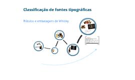 Classificação de tipos de embalagens de Whisky