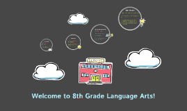 Welcome to 8th Grade Language Arts!