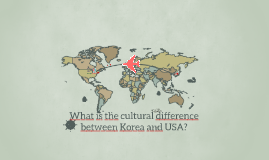 What is the difference between Korea and USA