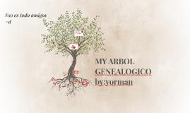 MY ARBOL GENEALOGICO