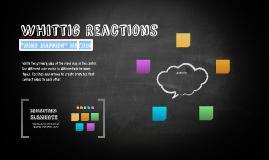 Whittig Reactions