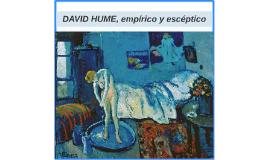 DAVID HUME, EMPIRICO Y ESCEPTICO