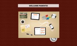 2016 WELCOME PARENTS!