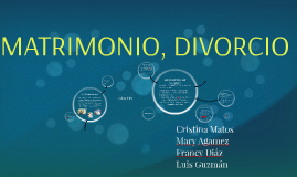 Copy of FAMILIA, MATRIMONIO, DIVORCIO