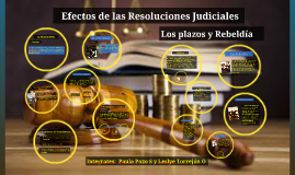 Copy of Efectos de las resoluciones Judiciales