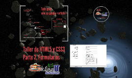 Taller de HTML5 y CSS3 (parte 2: formularios)