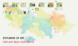 2D ART: Pop Art Self-Portraits, Invent A New Paint Color, Mini Collages