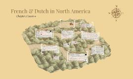 French & Dutch in North America