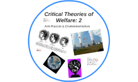 Critical Theories of Welfare: 2