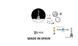 2015 - LINTERNAS MADE IN SPAIN = ARTEK