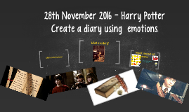 Diary Writing Harry Potter
