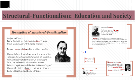 Structural-Functionalism:  Education and Society
