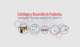 Copy of Estrategia y Desarrollo de Productos.