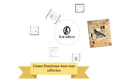 Come funziona una casa editrice